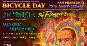 Bicycle Day announces full SF lineup for April 19