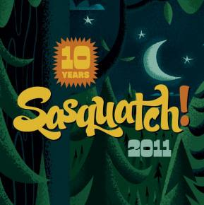 Sasquatch Day 3 / The Gorge Amphitheatre (George, WA) / 05.29.11