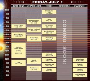 Electric Forest Releases 2-Day Ticket, Schedule and Map