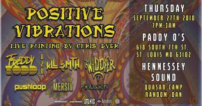 Positive Vibrations envelop St Louis in top music, art talent Sept 27 Preview