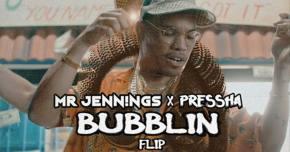 Mr Jennings x Pressha flip Anderson .Paak's 'Bubblin' Preview