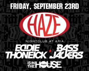 Eddie Thoneick and Bassjackers are In the House at Haze Las Vegas (9.23.11)