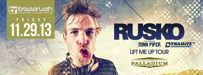Rusko - Top 10 Thanksgiving EDM Events