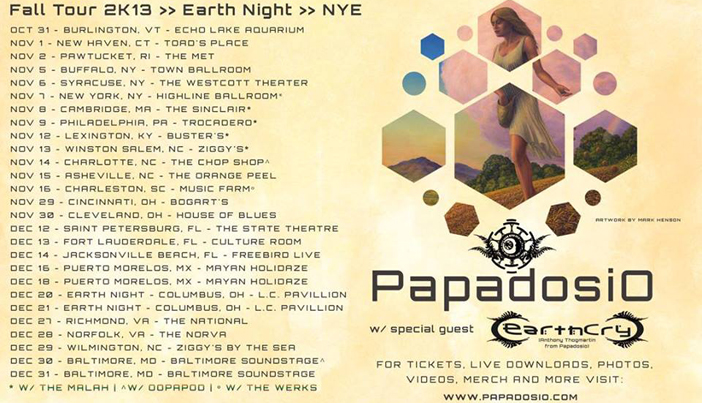 Papadosio - Top 10 Thanksgiving EDM Events