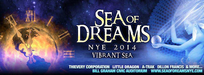 Sea of Dreams - Top 10 NYE EDM Events