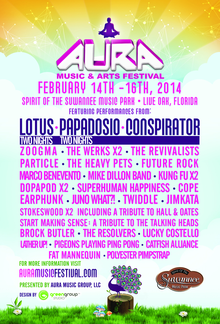 AURA Music & Arts Festival 2014