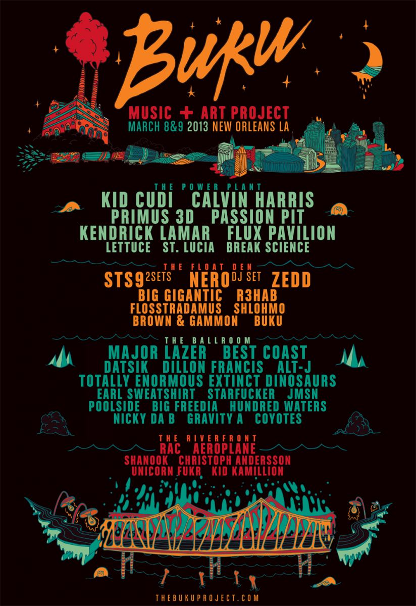 Buku Music + Art Project 2013