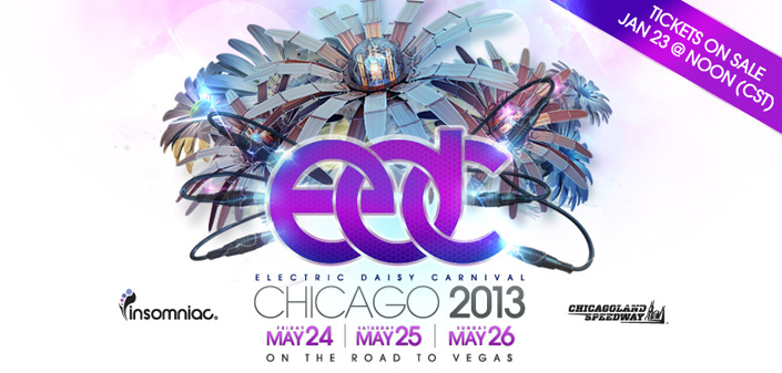 Electric Daisy Carnival Chicago May 24-26, 2013