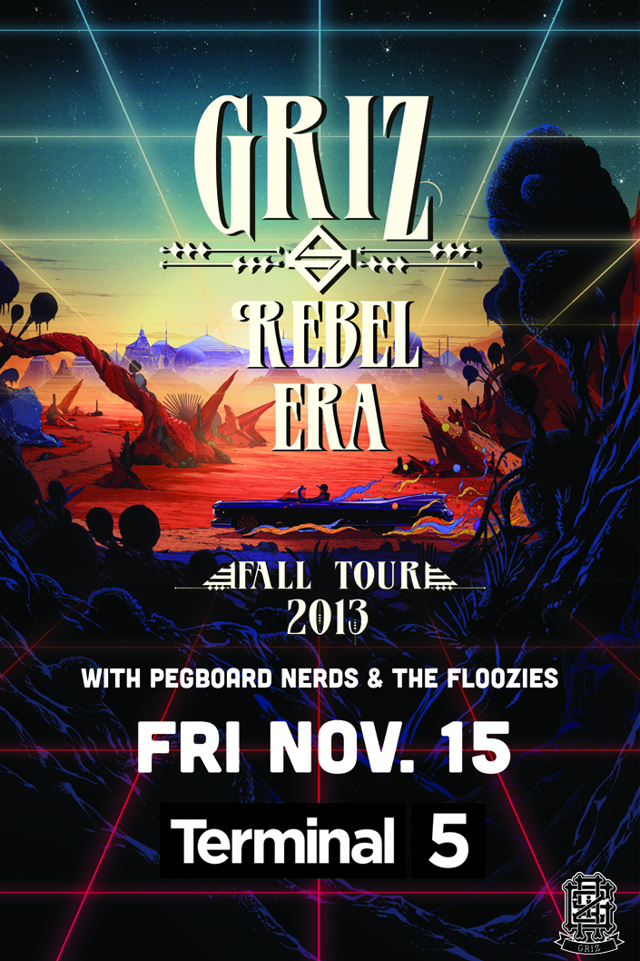 GRiZ at Terminal 5 in NYC