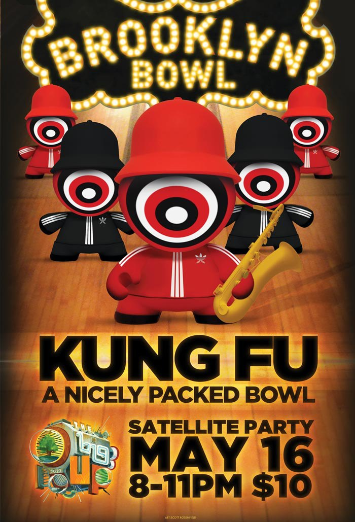 Kung Fu Brooklyn Bowl