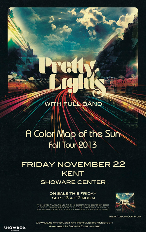 Pretty Lights / ShoWare Center (Kent, WA) / Nov 22, 2013