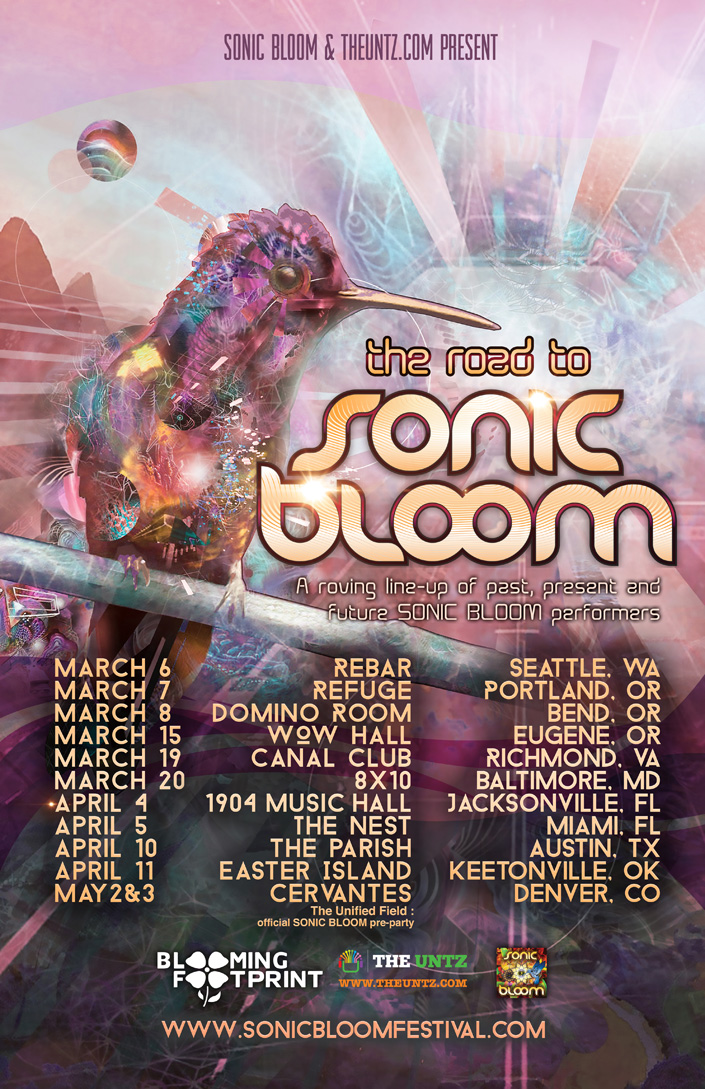 Road to SONIC BLOOM 2014