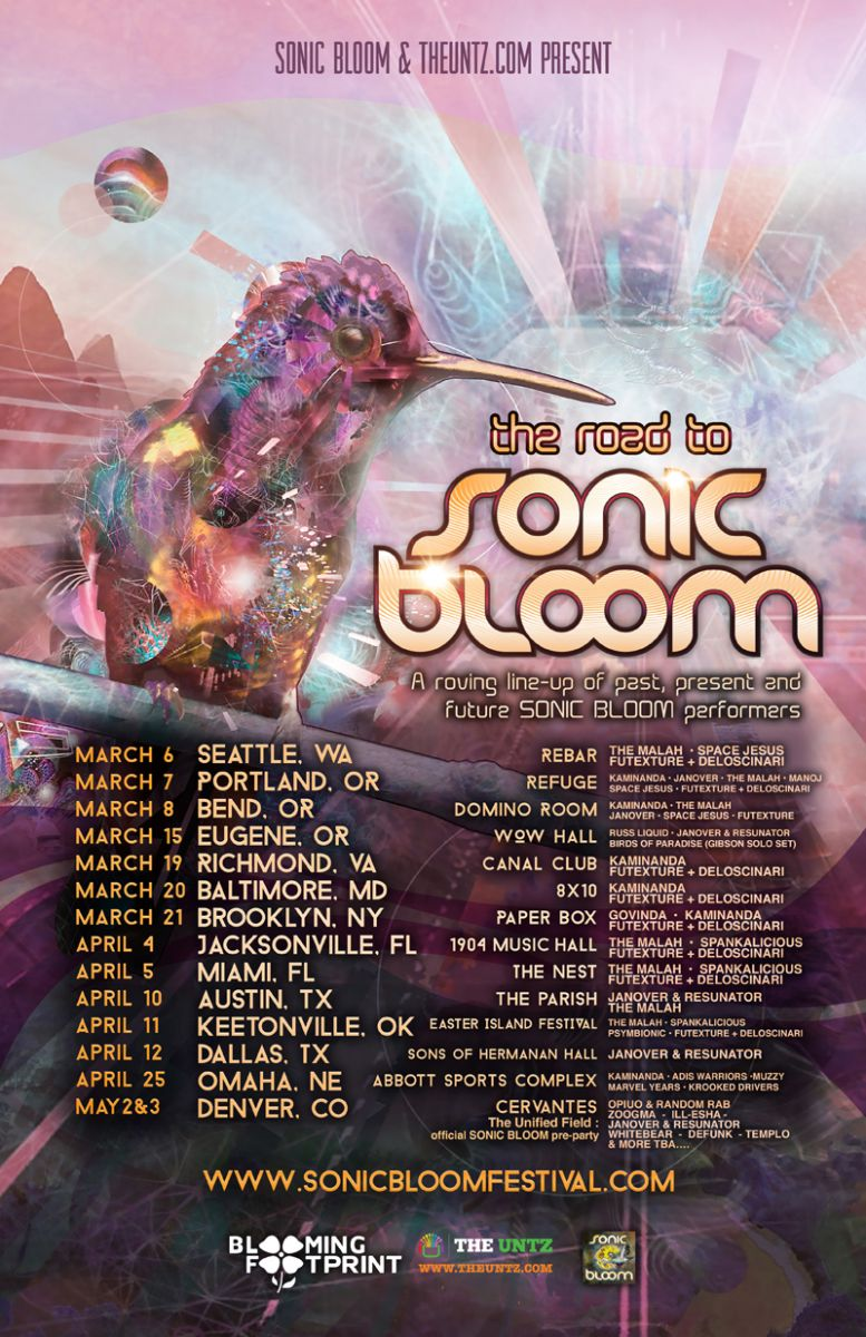 Road to Sonic Bloom