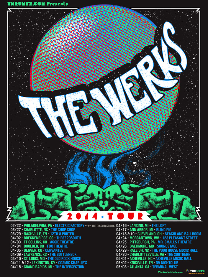 The Werks winter/spring tour