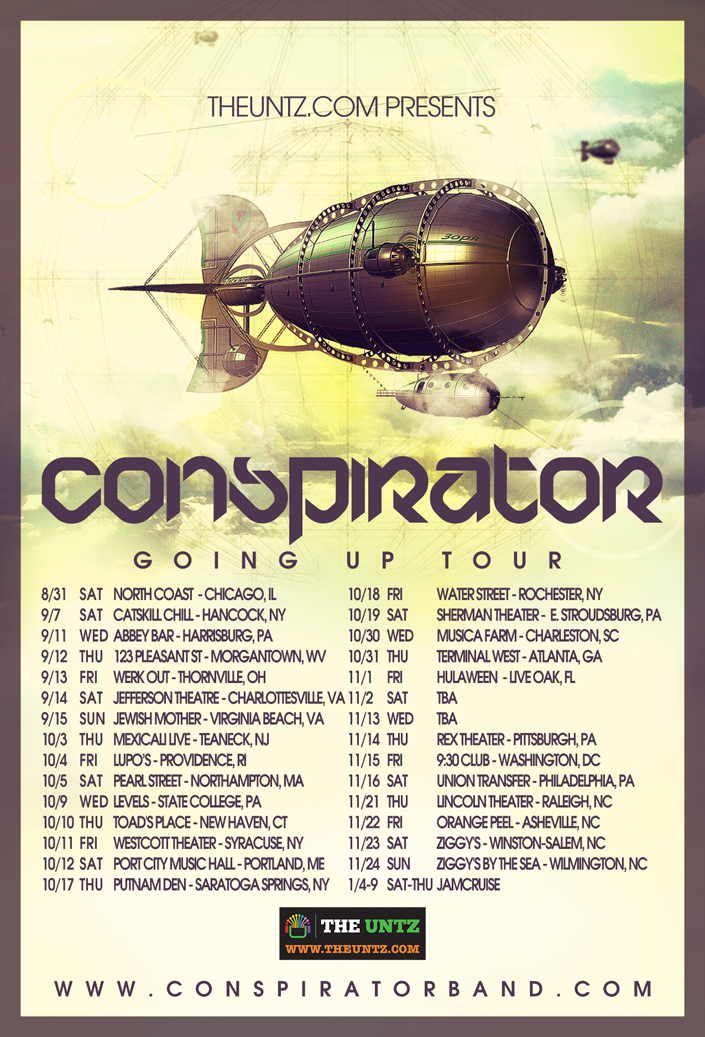 Conspirator - Going Up Tour