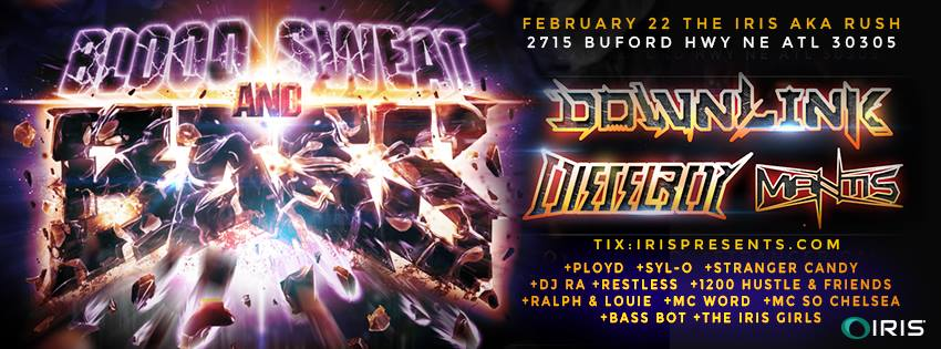 IRIS Presents Downlink, Dieselboy February 22