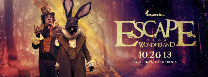 Escape from Wonderland - Top 10 Halloween 2013 EDM Events