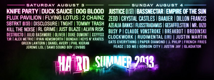 HARD Summer - Top 10 Summer Music Festivals