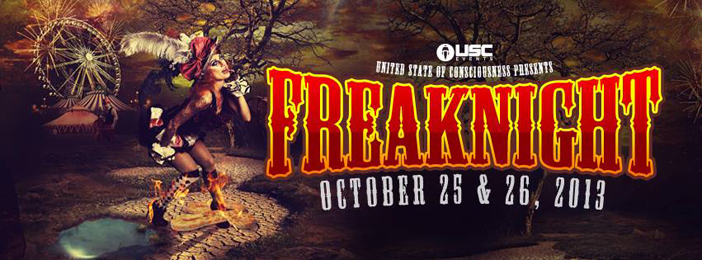 FreakNight - Top 10 Halloween 2013 EDM Events
