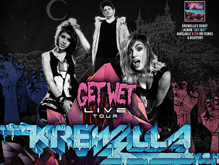 Krewella - Top 10 Halloween 2013 EDM Events