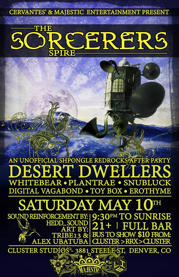 Desert Dwellers - Red Rocks after party - May 10