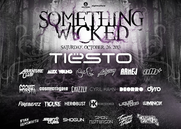 Something Wicked - Top 10 Halloween 2013 EDM Events