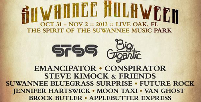 Suwannee Hulaween - Top 10 Halloween 2013 EDM Events