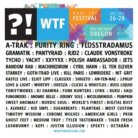 What The Festival 2013